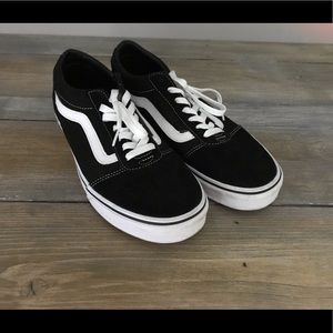 Vans Old Skool Athletic Shoes-men's 8